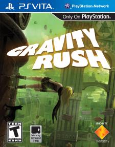 Gravity Rush box art cover jaquette US