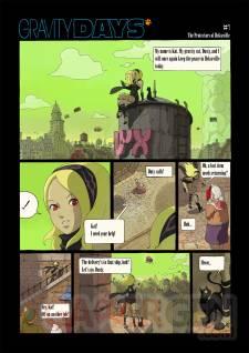 gravity rush daze days bande dessinee comic 01