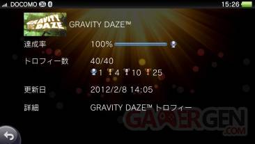 Gravity Rush Daze trophees 100 pour 100 08