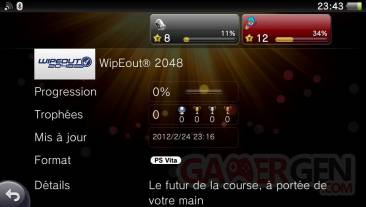 Wipeout Trophees 06.03.2012
