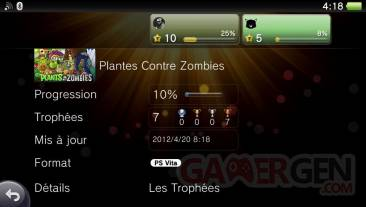 Plants vs Zombies trophees 23.04
