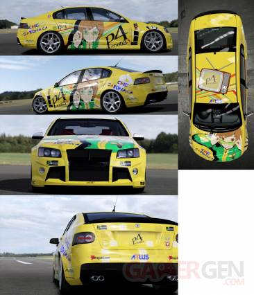 Persona 4 The Golden tunning voiture 04.04.2012