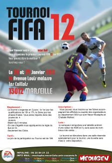 Affiche FIFA12 TOURNOI (2000)