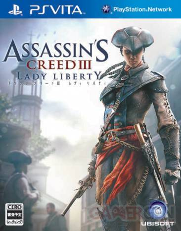 Assassin's Creed III Liberation jaquette japonaise 29.06.2012