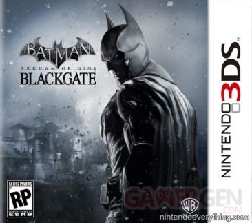 Batman Arkham Origins Blackgate jaquette 3ds 30.05.2013.