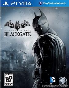 Batman Arkham Origins Blackgate jaquette psvita 30.05.2013.