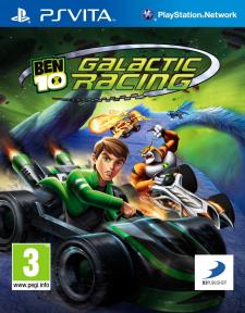 Ben 10 Galactic Racing jaquette 31.05.2012