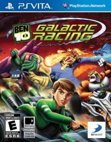 Ben 10 Galactic Racing jaquette
