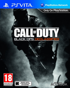 Call of Duty black ops declassified jaquette cover 31.10.2012.