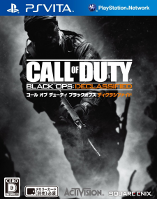 Call of duty black ops declassified jaquette jap covers 30.11.2012.