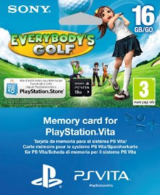 Carte memoire 16 go Everybody's golf 12.11.2012.
