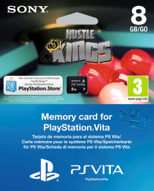 Carte memoire 8 go hustle kings 12.11.2012.