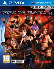 Dead or Alive 5 Plus jaquette couverture europeene 08.02.2013.
