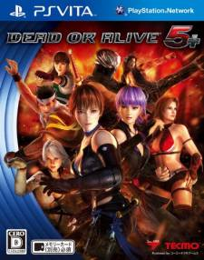 Dead or Alive 5 plus jaquette cover jap 28.02.2013.