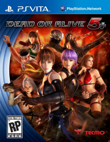 Dead or alive 5 Plus jaquette cover nord americaine 05.02.2013.