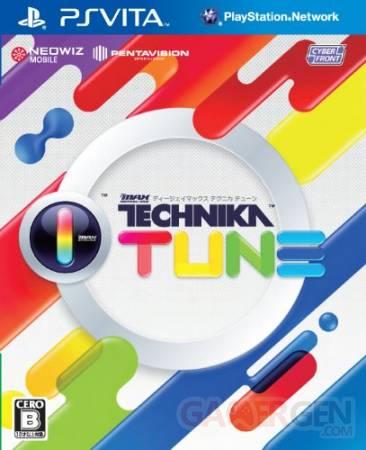 DJ Max Technika Tune jaquette cover 06.08.2012