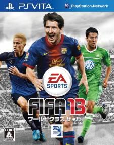 FIFA 13 jaquette japonaise cover 28.09.2012.