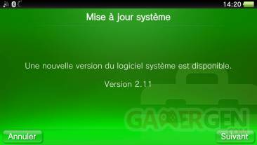 Firmware 2.11 mise a jour update 16.04.2013. (2)