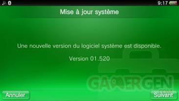 Firmware PSVITA 1.520