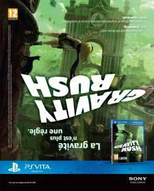 Gravity Rush affiche publicite 15.05.2012