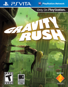 Gravity Rush box art cover jaquette US