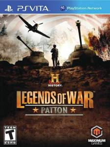 History: Legends of War History_Legends_Of_War_Patton__PS_Vita_