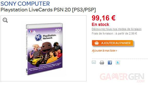 Insolite PlayStation Card 21.05