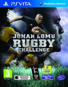 Jonah Lomu Rugby challenge jaquette covers 23.05.2012