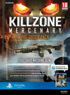 Killzone Mercenary bonus précommande 2