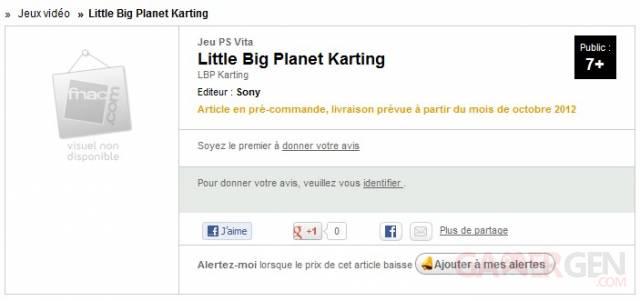 LittleBigPlanet Karting fnac.com