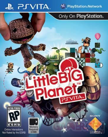 LittleBigPlanet PSVita jaquette