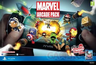 LittleBigPlanet PSVita Marvel Pack arcade 26.03.2013.