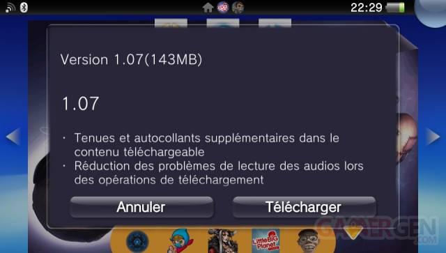 LittleBigPlanet PSVita mise a jour 1.07