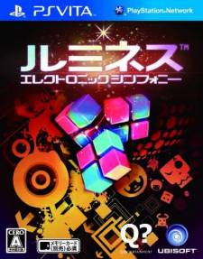 Lumines Electronic Symphony jap covers