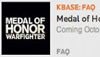 Medal of Honor Warfighter logo vignette 18.07.2012