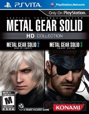 Metal Gear Solid HD Collection jaquette US