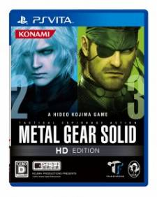 Metal Gear Solid HD Collection jaquette