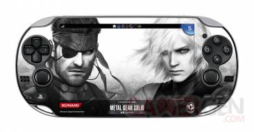 Metal Gear Solid HD Collection skin stickers 03.04