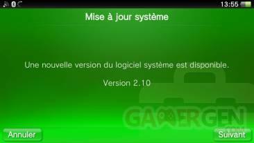 Mise à jour Firmware 2.10 10.04.2013. (2)