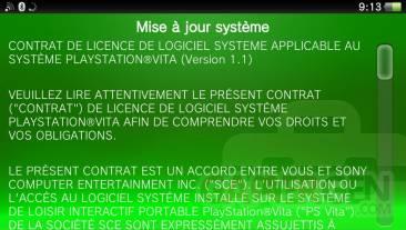 Mise à jour MaJ upatde firmware 2.06 psvita (2)