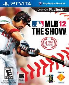 MLB 12 The Show PSvita covers