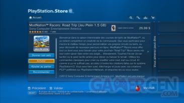 MODNATION ROAD TRIP PSN SEN PSVITA Captures screenshots 1