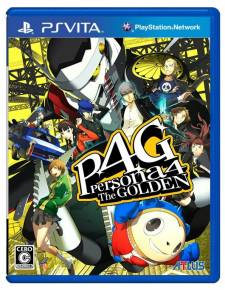 Persona 4 The Golden 4 jaquette japonaise