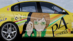 Persona 4 The Golden tunning voiture logo vignette 04.04.2012