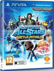 PlayStaion All Stars Battle Royale jaquette cover 31.10.2012