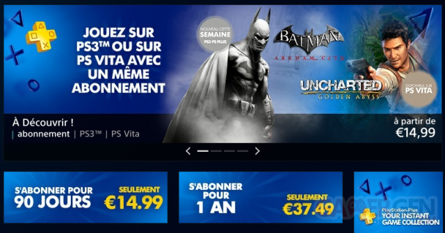 PlayStation Plus 18.12.2012.