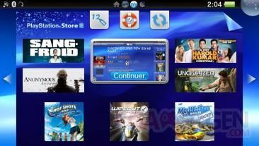PlayStation Store PSVita
