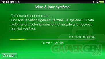 PSVita firmware 1.80 mise a jour  0024