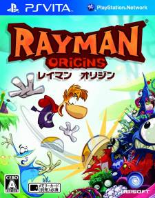 Rayman Origins japan covers