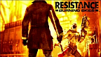 resistance burning skies cover box art jaquette head